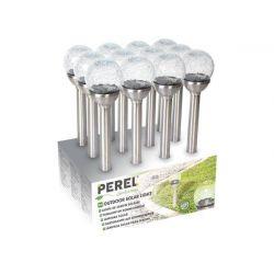 Perel Tuinlamp op zonne-energie 12st