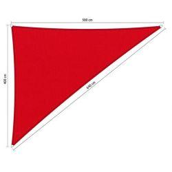 Shadow Comfort waterafstotend driehoek 90° 4x5x6,4 Red