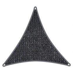 Coolaroo schaduwdoek driehoek 3x3x3m Grafiet